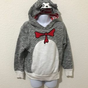 Other - Dr. Seuss Cat in the Hat Pull Over Sz 5T